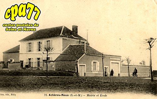Achères La Forêt - Mairie et école