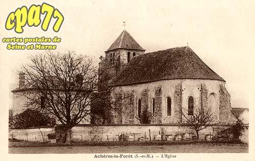 Achères La Forêt - L'Eglise