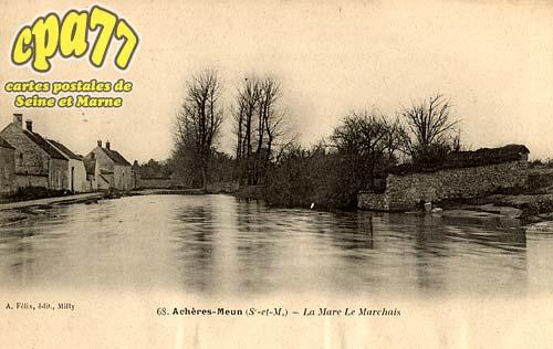 Achères La Forêt - La Mare Le Marchais