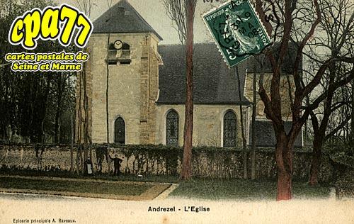 Andrezel - L'Eglise
