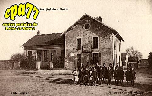 Andrezel - La Mairie - Ecole