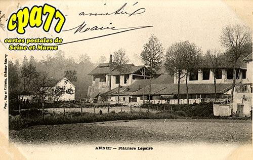 Annet Sur Marne - Plâtrière Lepaire