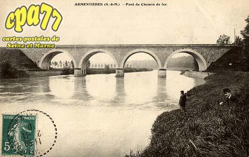 Armentières En Brie - Pont du chelin de fer