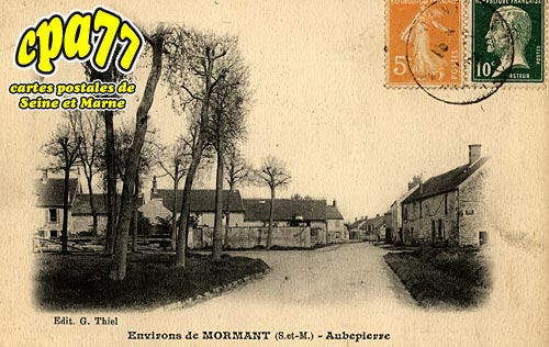 Aubepierre Ozouer Le Repos - Environs de Mormant