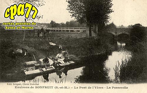 Aubepierre Ozouer Le Repos - Bonfruit - Le Pont de l'Yères - La Passerelle
