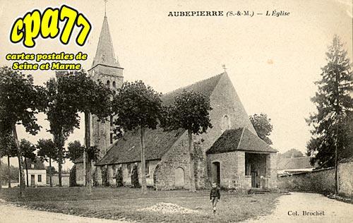 Aubepierre Ozouer Le Repos - L'Eglise