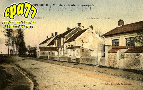 Aubepierre Ozouer Le Repos - Mairie et Ecole Communale