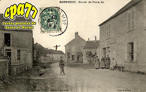 Aubepierre Ozouer Le Repos - Bonfruit - Route de Paradis