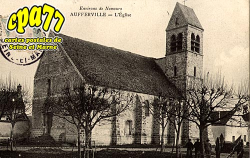 Aufferville - L'Eglise