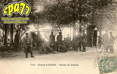 Avon - Camp d'Avon - Poste de Police