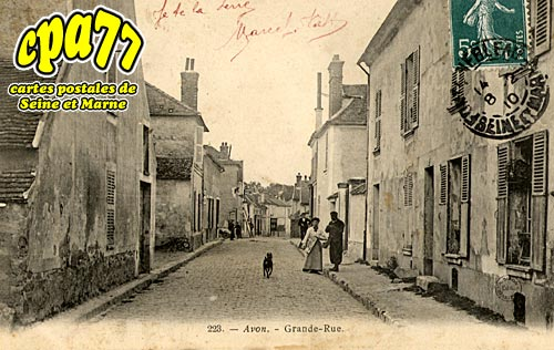 Avon - Grande-Rue