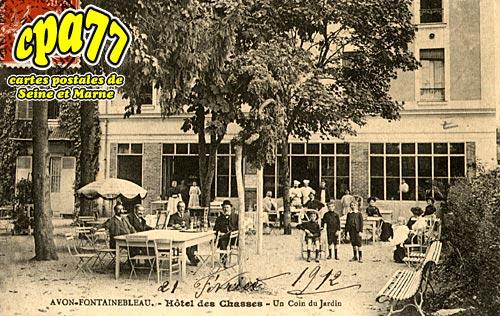 Avon - Hôtel des Chasses - Un coin de Jardin
