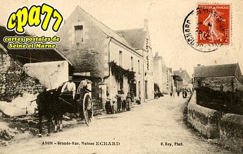 Avon - Grande Rue. Maison ECHARD