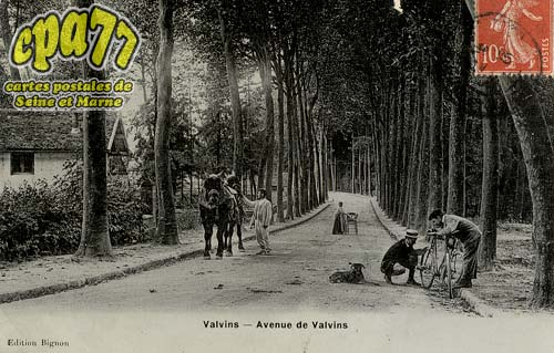 Avon - Avenue de Valvins