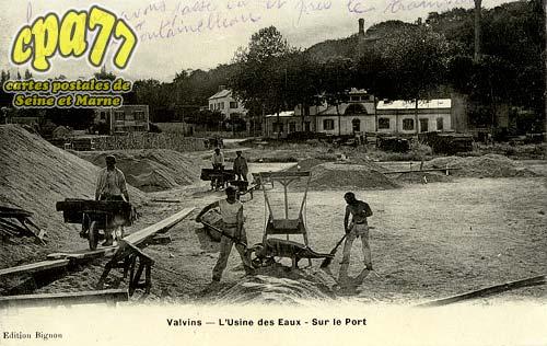 Avon - L'Usine des Eaux - Sur le Port