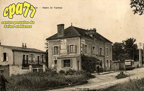 Avon - Route de Valvins