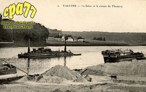 Avon - La Seine et le coteau de Thomery