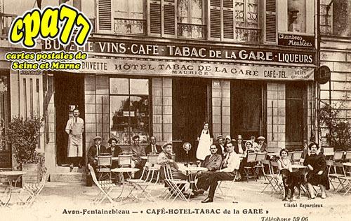 Avon - Café-Hôtel-Tabac de la Gare