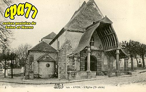 Avon - L'Eglise (Xe siècle)