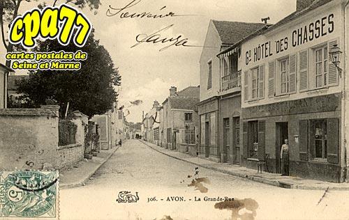 Avon - La Grande-Rue