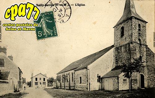 Bailly Carrois - L'Eglise
