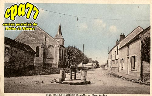 Bailly Carrois - Place Verdun