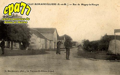 Bailly Romainvilliers - Rue de Magny le Hongre