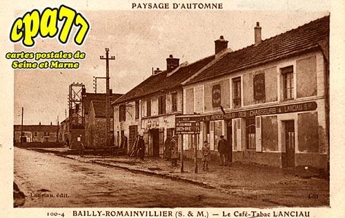 Bailly Romainvilliers - Le Café-Tabac LANCIAU