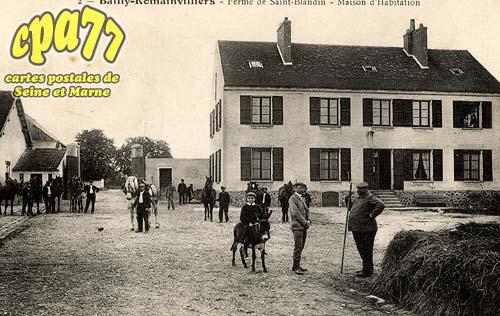 Bailly Romainvilliers - Ferme de Saint-Blandin - Maison d'habitation