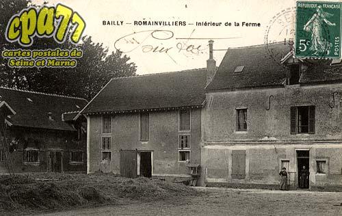 Bailly Romainvilliers - Intérieur de la Ferme