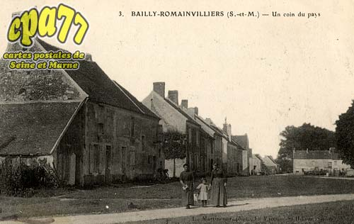 Bailly Romainvilliers - Un coin du pays
