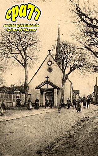 Barbey - L'Eglise