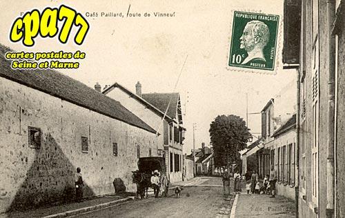 Barbey - Café Paillard, Route de Vinneuf