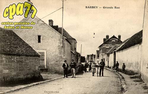 Barbey - Grande Rue