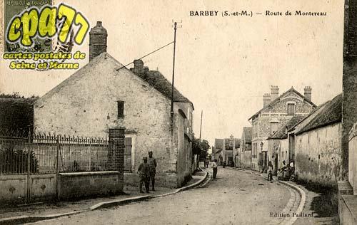 Barbey - Route de Montereau