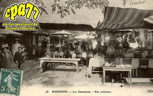 Barbizon - Les Charmettes - Vue intérieure