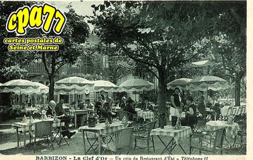 Barbizon - La Clef d'Or - Un coin du Restaurant d'Eté