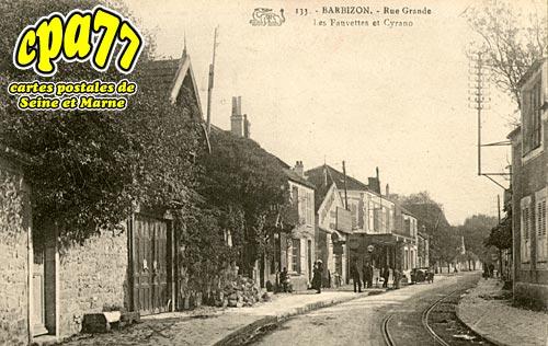 Barbizon - Rue Grande - Les Fauvettes et Cyrano