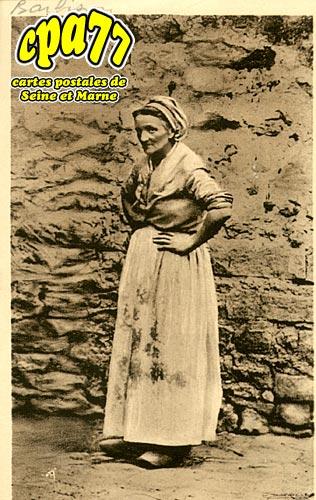 Barbizon - Madame Narié qui a posé pour