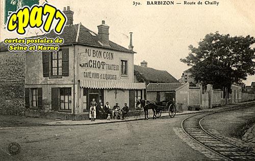 Barbizon - Route de Chailly