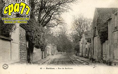 Barbizon - Rue de Barbizon
