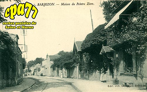 Barbizon - Maison du Peintre Ziem
