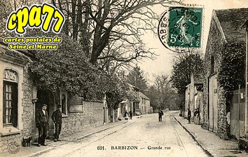 Barbizon - Grande-Rue