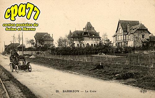 Barbizon - La Crète