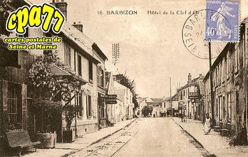 Barbizon - Hôtel de la Clef d'Or