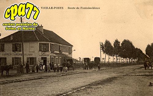 Barbizon - La vieille-Poste - Route de Fontainebleau