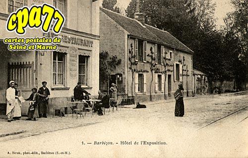 Barbizon - Hôtel de l'Exposition