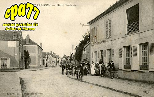 Barbizon - Hôtel Toulouse