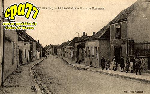 Bazoches Lès Bray - La Grande Rue - Route de Montereau