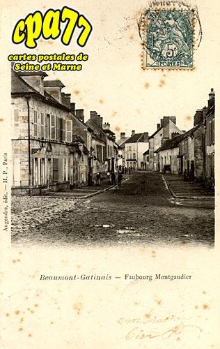 Beaumont Du Gâtinais - Faubourg Montgaudier